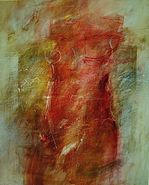 Girl with Green Dogs by Antoni Karwowski
