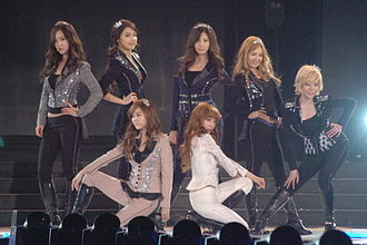 Korean pop idol - Idol group Girls' Generation, signed under S.M. Entertainment