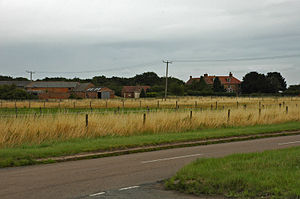 Peterborough Business Airport - Image: Glatton Rose Court Farm