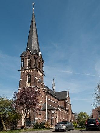 Korschenbroich - Image: Glehn, die katholische Pfarrkirche Sankt Pankratius Dm 061 foto 3 2014 03 29 14.10