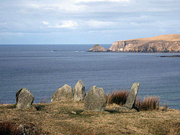 Glengad stone circle, Kilcommon, Erris
