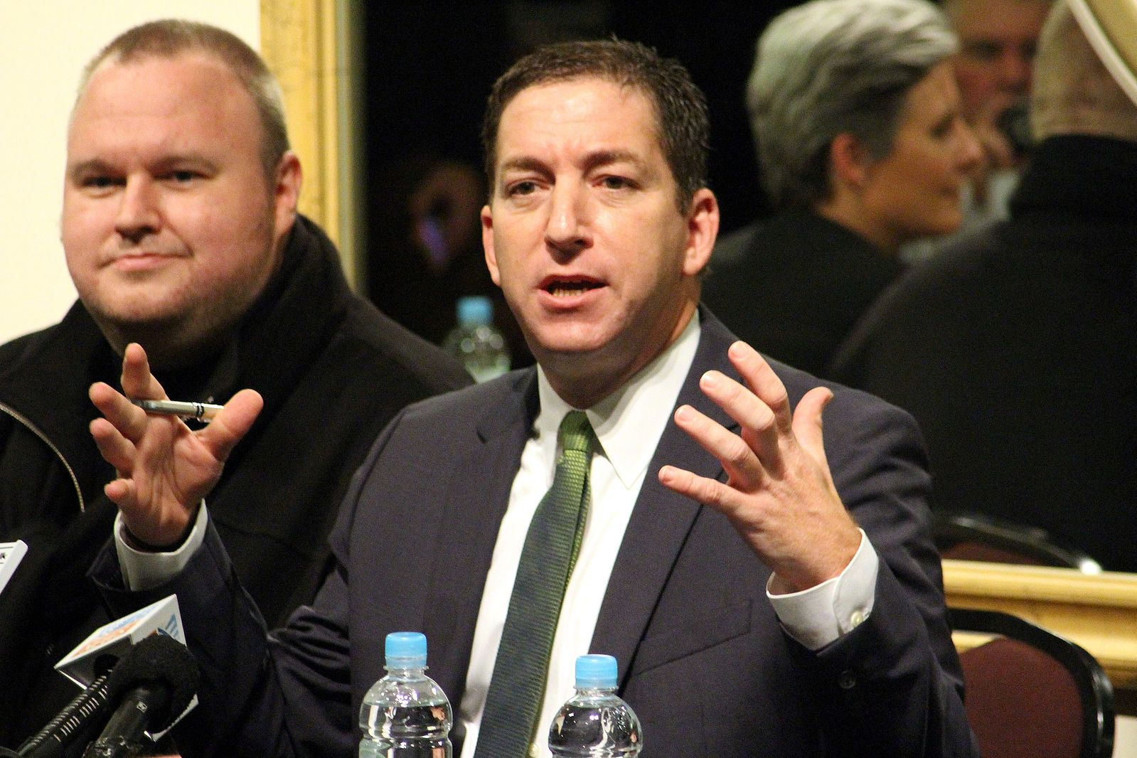 Glenn Greenwald speaking