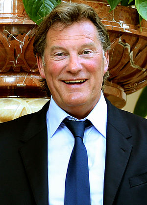 Glenn Hoddle - Glenn Hoddle visiting Doha in April 2014