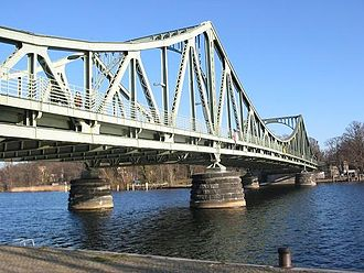 Brandenburg - Glienicke Bridge, which connected East Germany to the American sector of West Berlin, became known for the exchange of captured spies.