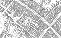 Gloucester Albert Hall, Shire Hall, Corn Exchange Ordnance Survey map 1880s.jpg