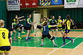 Glychanka UA - Naisa Nis RS handball teams IMG 7835.JPG
