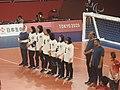 Goalball-2020-Tokyo Paralympics EGY–JPN F line-up.jpg