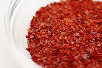 Korean cuisine - Gochugaru (chili powder)