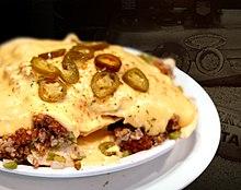 nacho cheese uit de oven