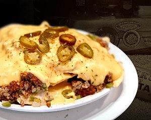 Nachos - Nachos with cheese