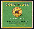 Gold Plate cigarettes pack, pic4.JPG