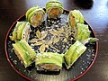 Golden Maki Vegetarian Dragon sushi roll.jpg