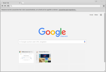 Google Chrome 46.0 unter Linux Mint 17.2