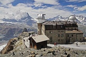 Gornergrat Kulm Hotel - Image: Gornergrat in Wallis, Switzerland, 2012 August