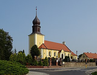 Gostycyn Village in Kuyavian-Pomeranian Voivodeship, Poland