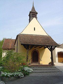 gotische Kapelle in Rümmingen