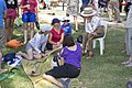Governor-General of Australia, Quentin Bryce speaks with spectators at Cabarita Park during the 2013 Gumi Race (1).jpg