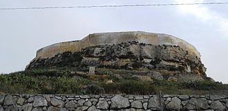 Fortifications of Malta - The northern walls of the Cittadella were built in the 15th century