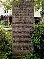 Grabstein Norbert Prager Frieda Jüdischer Friedhof an der Strangriede Hannover.jpg