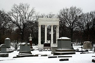 Graceland Cemetery cemetery in Chicago, Illinois