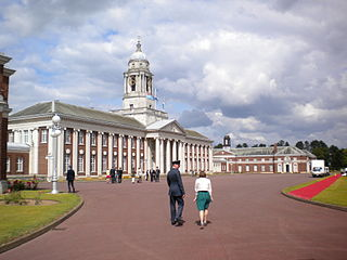 RAF Cranwell Royal Air Force training station in Lincolnshire, England.
