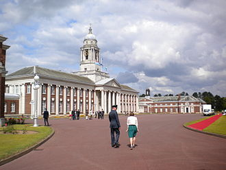 RAF Cranwell - College Hall at the Royal Air Force College, Cranwell