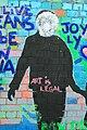 Graffiti in Shoreditch, London - Art is legal (12955570704).jpg