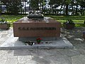 Grave of Marshal of Finland Carl Gustaf Mannerheim, Hietaniemi Cemetery, Helsinki.jpg