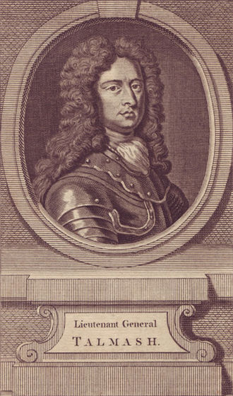 Battle of Camaret - General Talsmash, commander of the landing forces