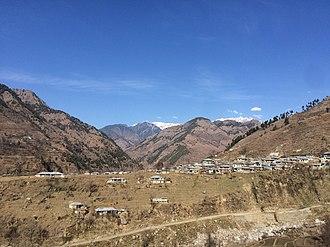 Allai Tehsil - Image: Great Hills Battagram