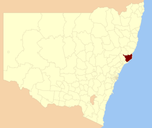 Great Lakes Council - Location in New South Wales