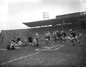 Empire Stadium (Vancouver) - 1955 Grey Cup at Empire Stadium