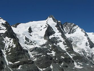 Glockner Group - The Großglockner is the highest mountain in the Glockner Group