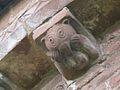 Grotesque corbel, Kilpeck.jpg