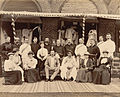 Group at Residency including the Maharaja of Kolhapur.jpg