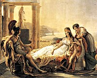 Aeneas tells Dido about the fall of Troy, by Pierre-Narcisse Guérin.