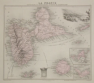 History of Guadeloupe - Guadeloupe in 1865