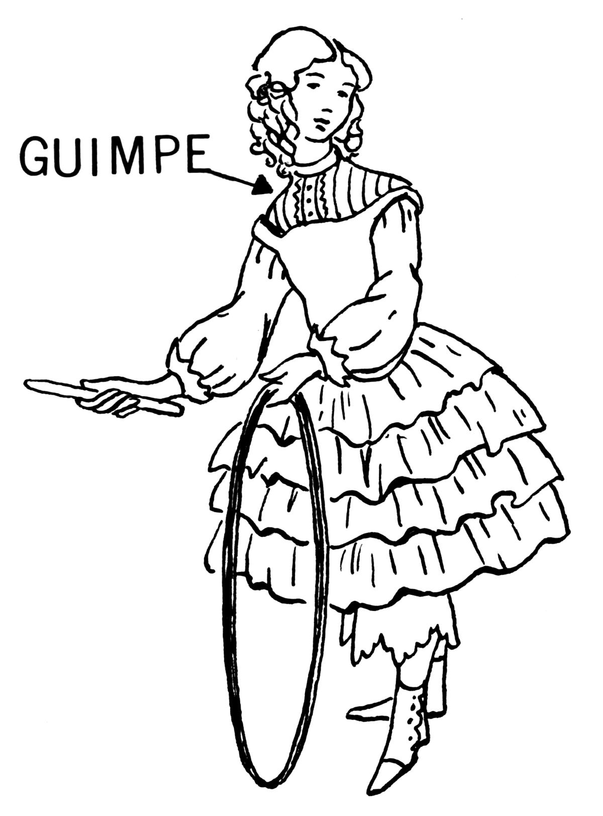 Guimpe wiktionnaire for Portent wiktionary
