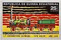Guinea Ecuatorial 1a Locomotora Alemana Tipo Adler Ano 1835 - 27433251422.jpg