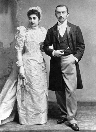 Calouste Gulbenkian - Gulbenkian's wedding to Nevarte Essayan in London in 1892