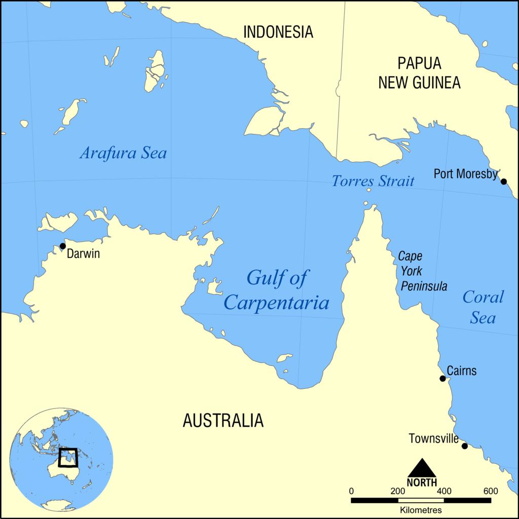 Карпента́рия (англ. Gulf of Carpentaria) — залив Арафурского моря на севере Австралии.