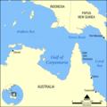 Gulf of Carpentaria map.png