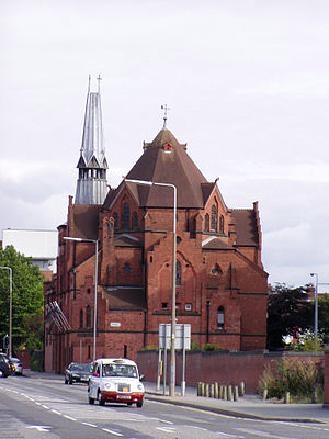 Swedish diaspora - The Gustav Adolf Church in Liverpool, the oldest surviving Swedish church in the United Kingdom