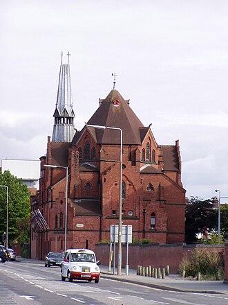 Swedish diaspora - The Gustav Adolf Church in Liverpool, the oldest surviving Swedish church in the United Kingdom