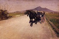 Gustave Caillebotte - A Road near Naples.jpg