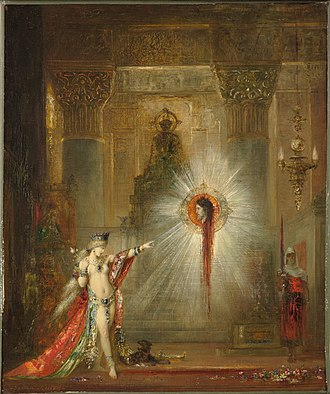 L'Apparition - Image: Gustave Moreau l'Apparition