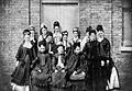 Guy's Hospital Gazette, A group of nurses Wellcome M0017810.jpg