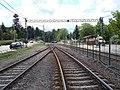 HÉV station, Route 2101 level crossing, 2020 Mogyoród.jpg