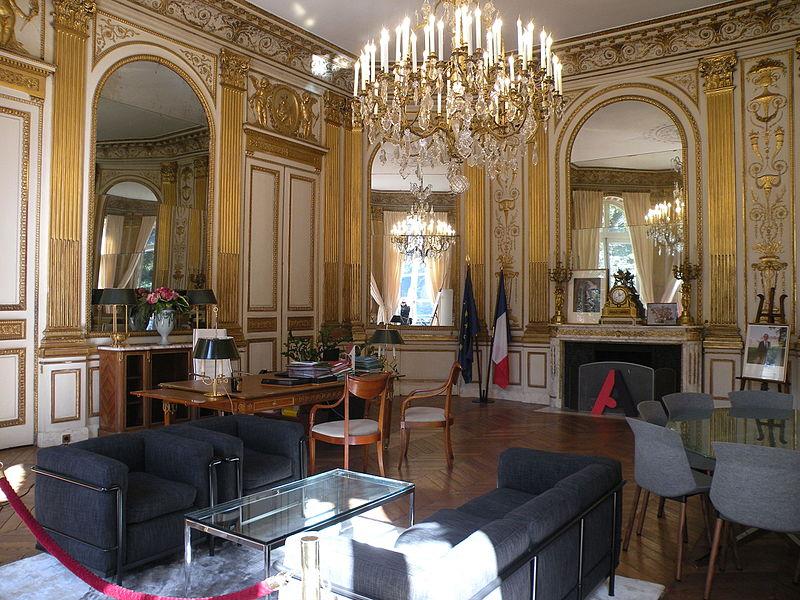 File h tel du ch telet bureau du ministre 3 jpg - Cabinet du ministre de l interieur ...