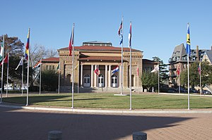 Hampton, Virginia - Ogden Hall at Hampton University